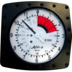 MA-10UD analog military altimeter