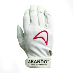 Akando Classic skydiving gloves (white)