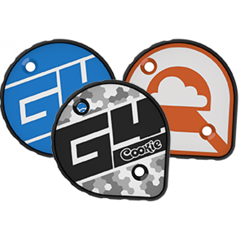 Cookie G4 skydiving helmet (Matte black, XL) - scratched