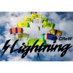 PD Lightning main parachute canopy
