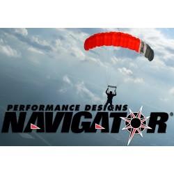 PD Navigator main parachute canopy