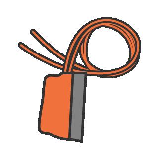 Cutaway handles