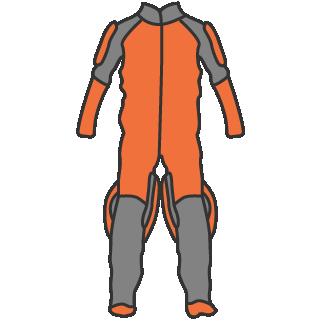 Relative work (RW) jumpsuits