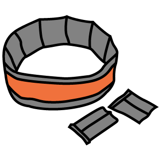 Weight belts and bands