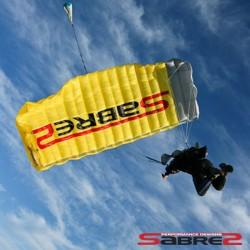 PD Sabre2 main parachute canopy