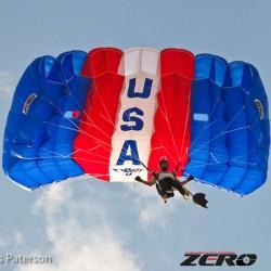 PD Zero main parachute canopy