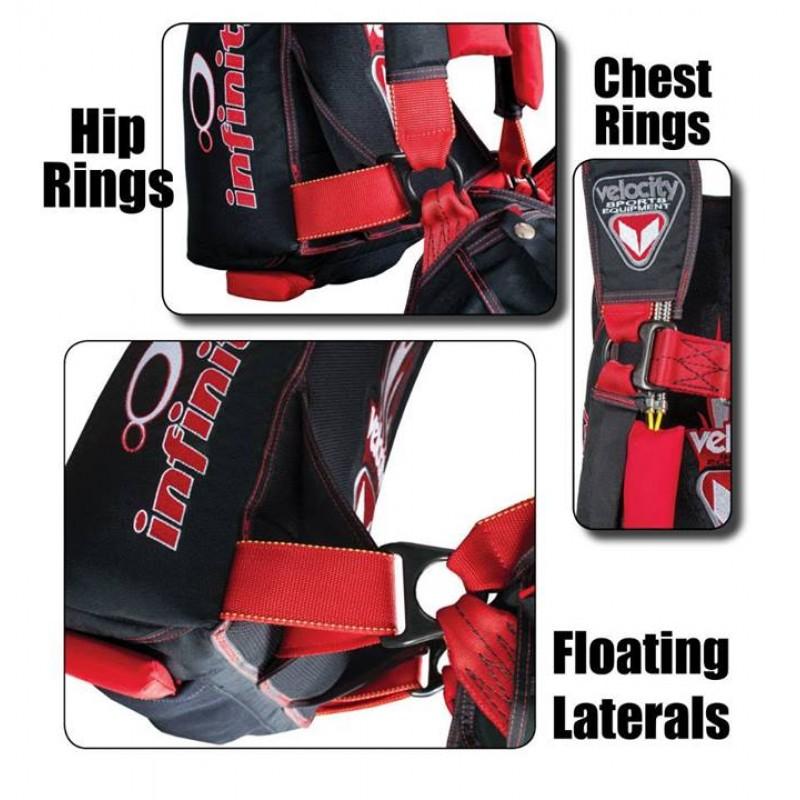 Infinity skydiving rig package