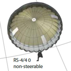 RS-4/4 0  non-steerable military canopy